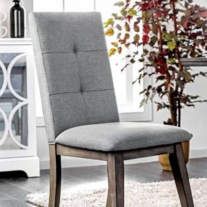 Abelone Gray Light Gray Table Chair(2PK)
