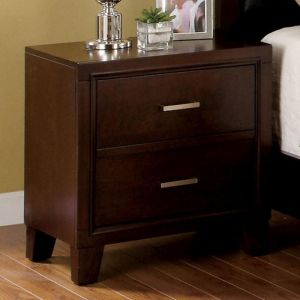 Enrico Brown Cherry Nighstand
