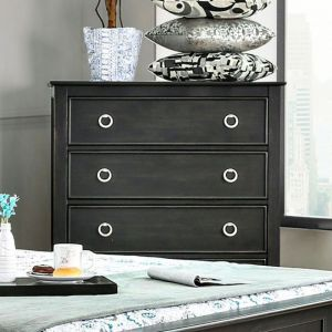 Arabelle Wire Brushed Black Chest