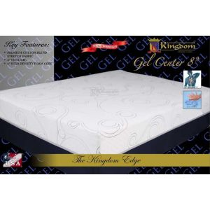 Gel Center 8  Mattress Set